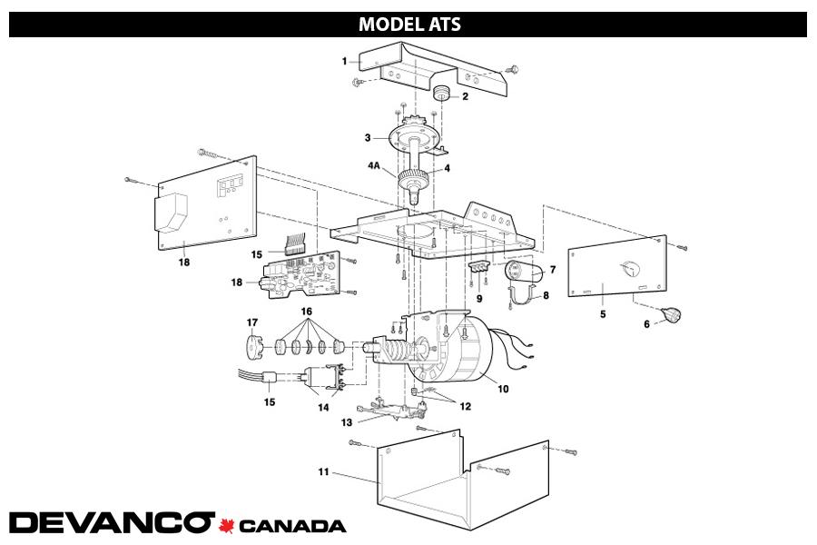[SCHEMATICS_43NM]  Devanco Canada - Get The Right Garage Door Opener and Parts | Liftmaster Model Ats2113x Wiring Diagram |  | Devanco Canada - Get The Right Garage Door Opener and Parts