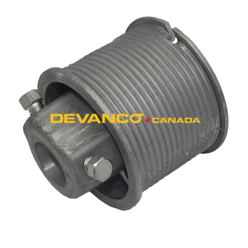 Truck door cable drum curbside rh for todco
