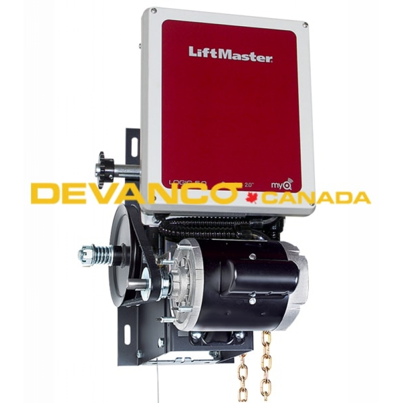 liftmaster hoist op with carwash mod 12 hp vac logic 5 right hand