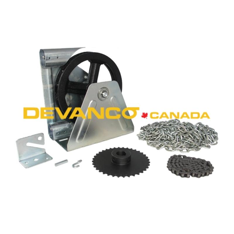 wall mounted garage door devanco canada get the right garage door opener and parts