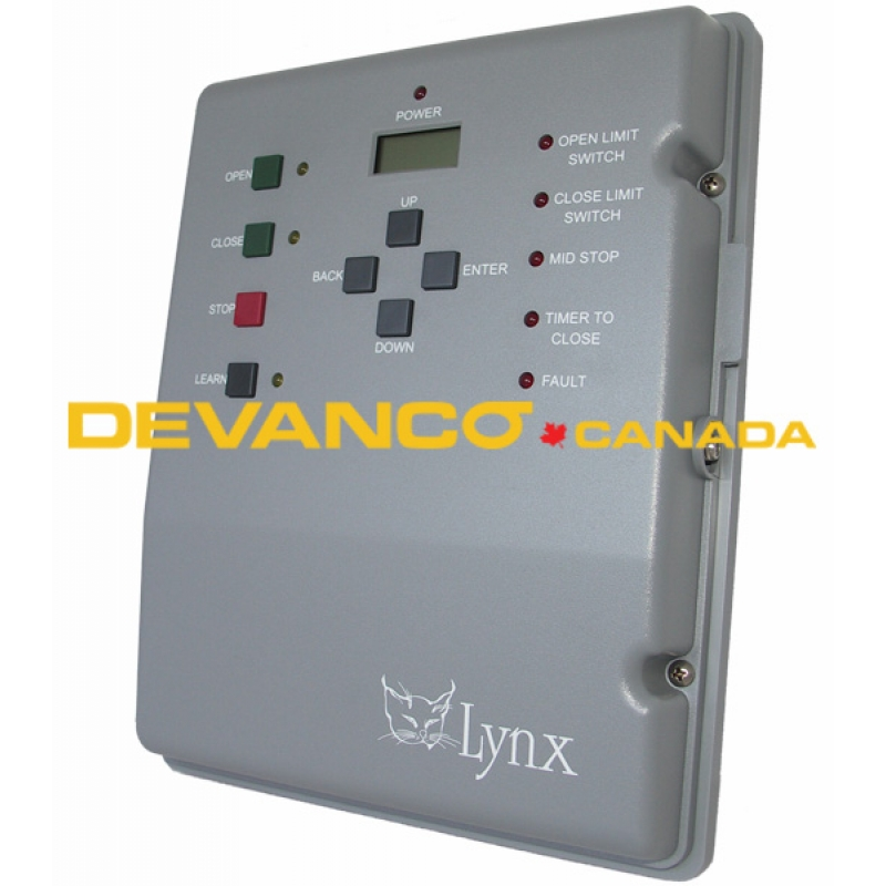 Devanco canada get the right garage door opener and parts lynx control board with cover for ul325 models swarovskicordoba Choice Image