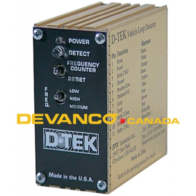 D TEK MVP devanco canada D-TEK Loop Det at webbmarketing.co