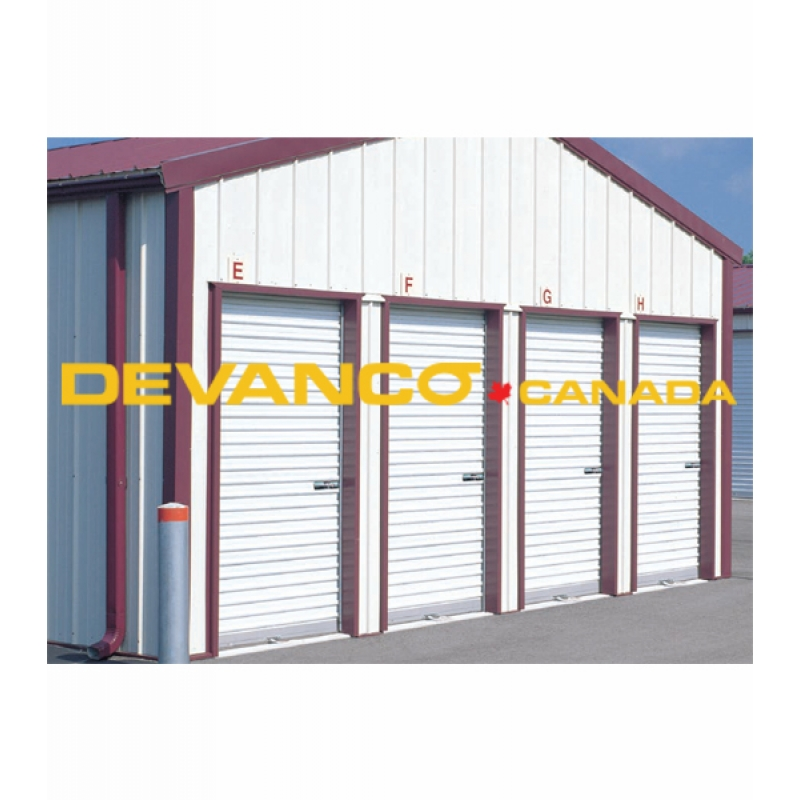 Light Commercial Non-Insulated Rollup Door with Exterior Curtain Lock  sc 1 st  Devanco Canada - Get The Right Garage Door Opener and Parts & Devanco Canada - Get The Right Garage Door Opener and Parts