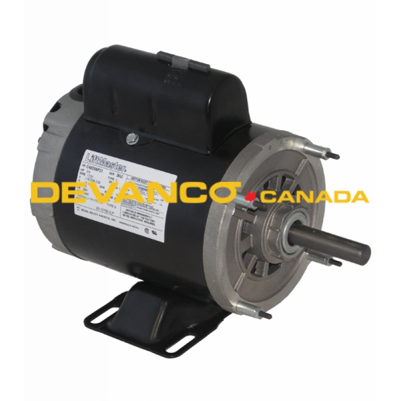 K20 1050b 2lp Liftmaster Electric Motor 12 Hp 115230v