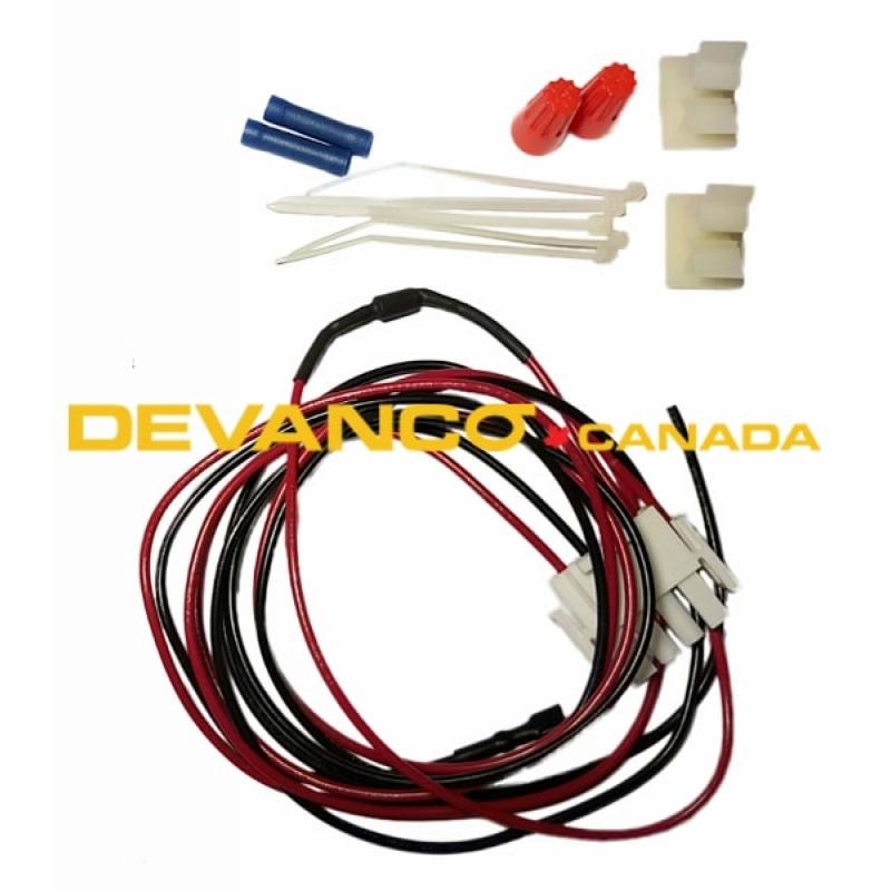 devanco get the right garage door opener and parts liftmaster universal solar harness kit