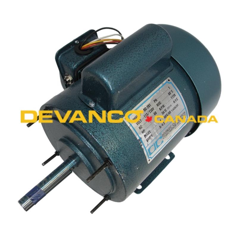 27021 27021 doorlec electric motor tefc 12hp 115230v dc201