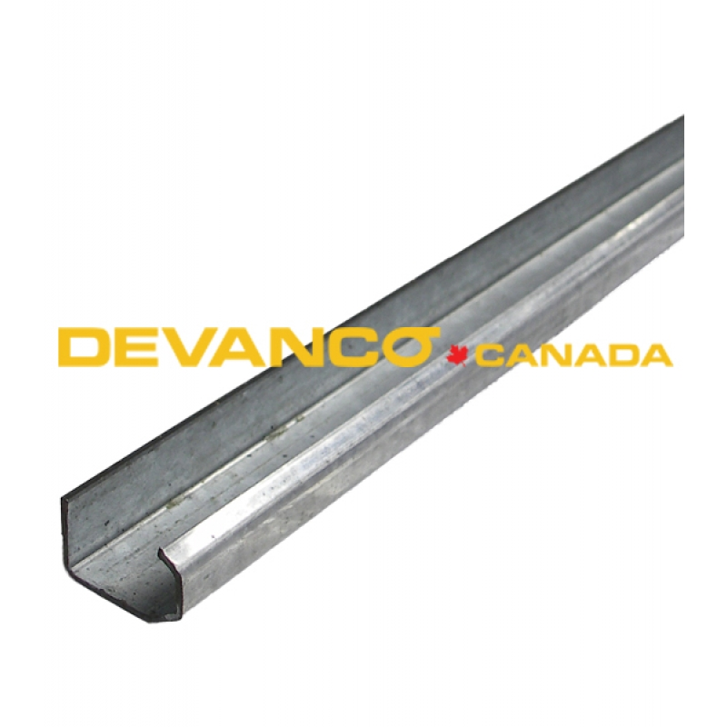 truck door 1 vertical track 935 for todco roll up doors - Garage Door Vertical Track