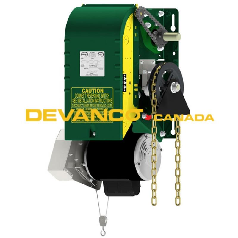 Circuit Consisting Of A Reversing Motor Controlled Garage Door