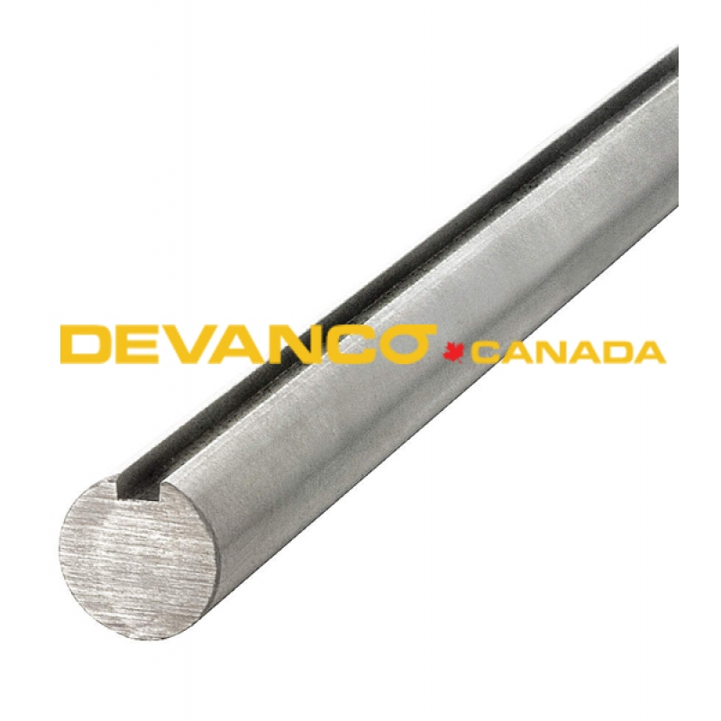 Solid Shaft 16 Solid Shaft 1 Quot Keyed 16 Ft Galvanized
